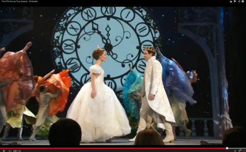 Laura Charles '00 takes a Tony with Cinderella costume