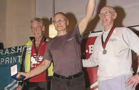 Merritt Lehman '64: Rowing to gold on the world stage