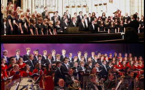 State-ranked high school choirs to perform seasonal music for Dec. 10 Afternoon Sabbatical