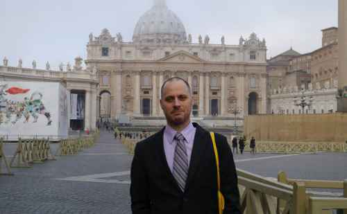 An Unexpected Audience with Pope Francis – Chad Bauman '95