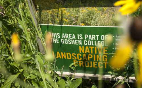 Goshen College earns silver for commitment to sustainability