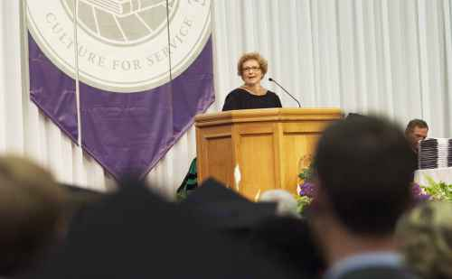 "Commencement speech: ""The Imperative of Providence"""