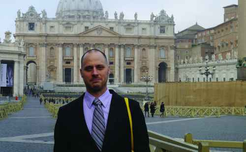 An unexpected audience with Pope Francis: Chad Bauman