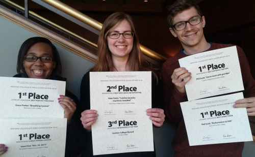 Goshen College students win state awards for newspaper, literary publication