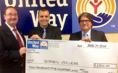 United Way supports Write on Sports camp at Goshen College