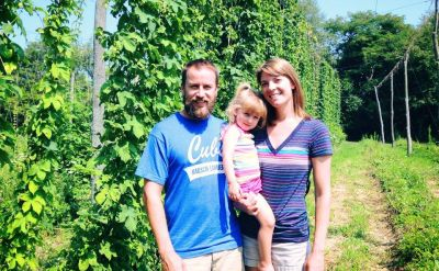 Jesse '01 and Amanda '03 Sensenig turn to IndieGoGo for Goshen Brewing Company fundraising – Flavor 574
