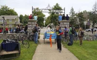 Goshen College welcomes Great March for Climate Action