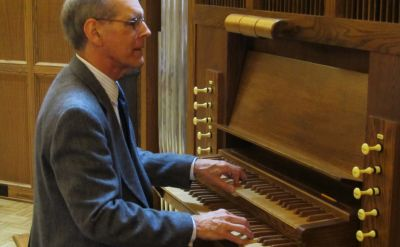 Organist Stephen Jacoby to open 2014-15 Goshen College Rieth Chamber Series