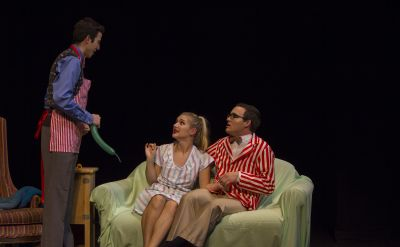 Goshen College's 2014 Peace Play winner, 'Out From Under With Mary,' takes the stage Oct. 3