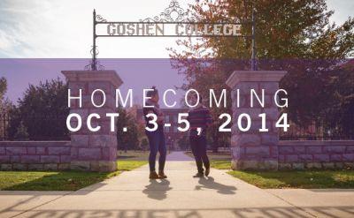 Goshen College Homecoming Weekend, Oct. 3-5