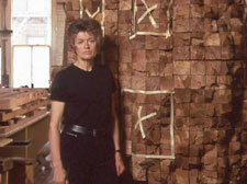 Wood sculptor and Holocaust survivor Ursula von Rydingsvard offers 2004 Eric Yake Kenagy Visiting Artist address