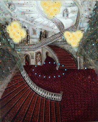 painting by Michiko Itatani