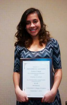JanethVela_Award