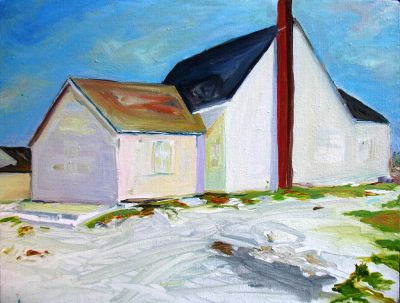 John Blosser's painting