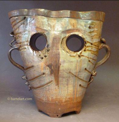 Marvin Bartel's ceramic piece.
