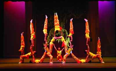 Peking Acrobats to present daring acts on Feb. 10