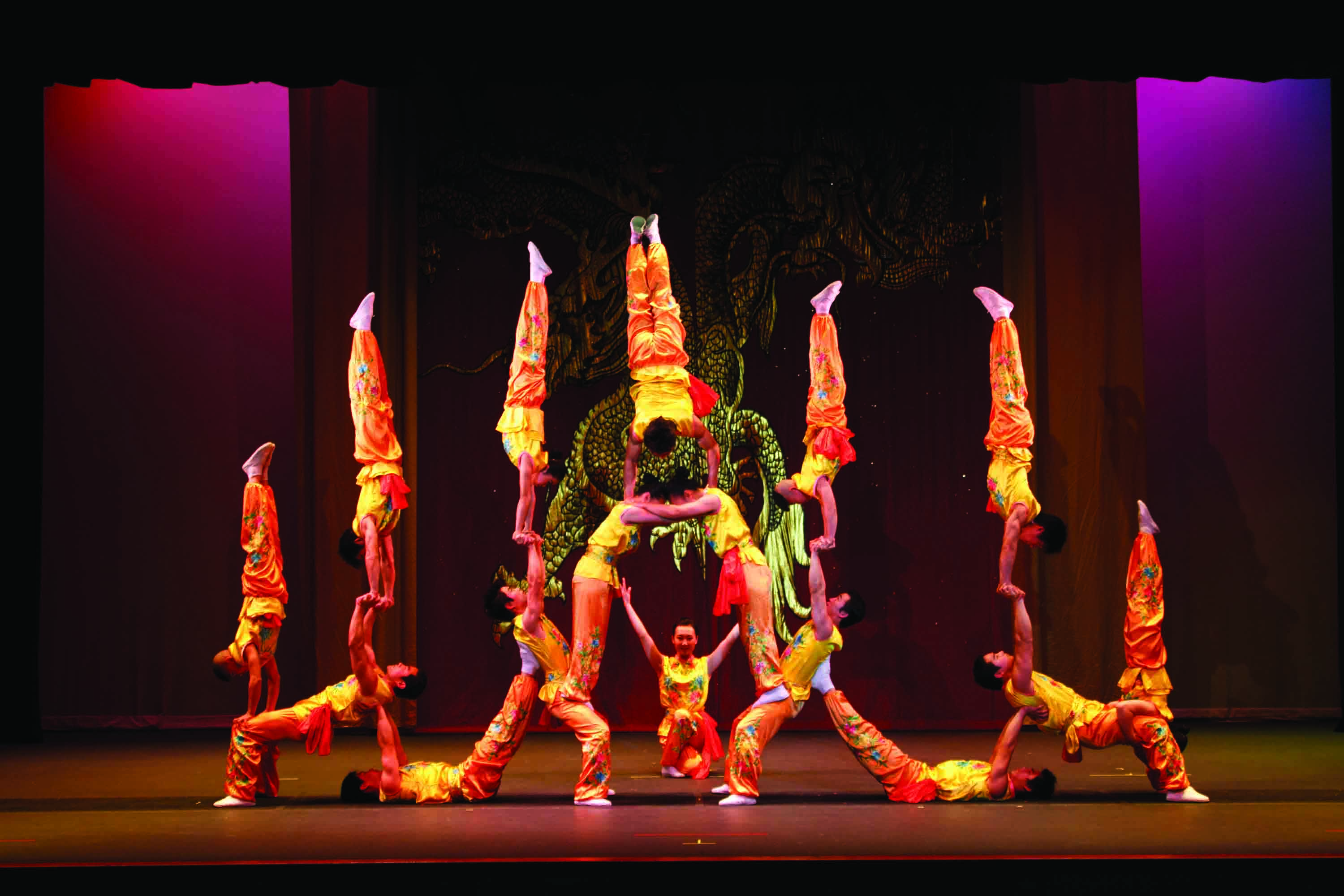 Peking Acrobats To Present Daring Acts On Feb 10 Goshen
