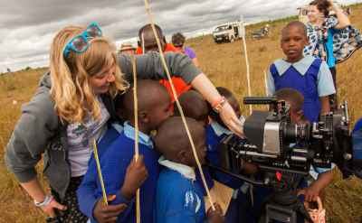 In Kenya, GC students document stories of sustainability