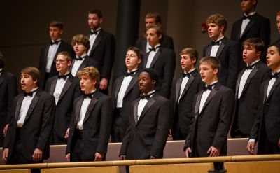 Goshen College Men's Chorus to perform home concert after spring break tour, March 1