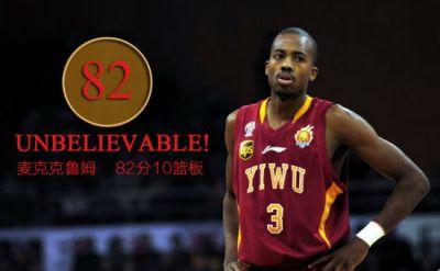 Errick McCollum '10 breaks Chinese Basketball Association scoring record
