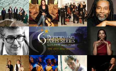 2015-16 Performing Arts Series to include expanded lineup of big names and returning artists