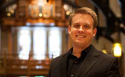 Award-winning organist to perform on Goshen College's Taylor & Boody pipe organ April 19