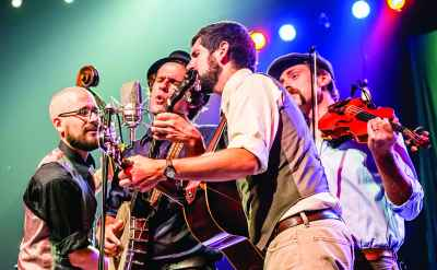 The Steel Wheels return to Goshen College