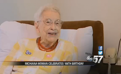 Rachel Kreider '31 turns 106 – ABC 57