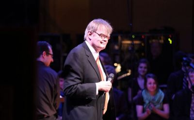 Music fills Garrison Keillor's 'A Prairie Home Companion' at Goshen College – The Elkhart Truth