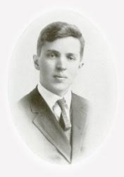 Orie O. Miller's 1915 Goshen College yearbook photo
