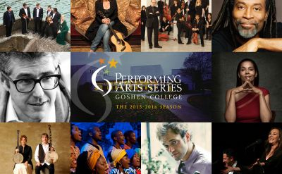Individual tickets on sale Aug. 3 for the 2015-16 Goshen College Performing Arts Series