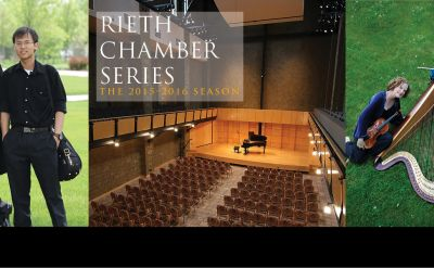 2015-16 Rieth Chamber Series to offer 'powerful' and 'spirited' performances