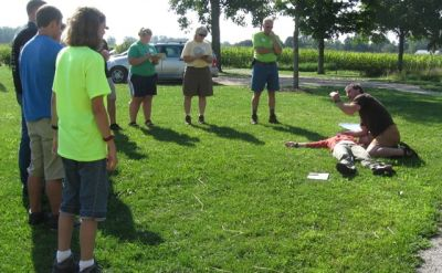 Merry Lea offers wilderness first aid course