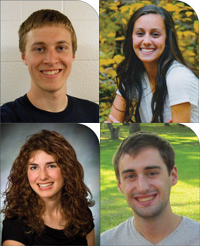 Four Goshen College students earn top Everence scholarships