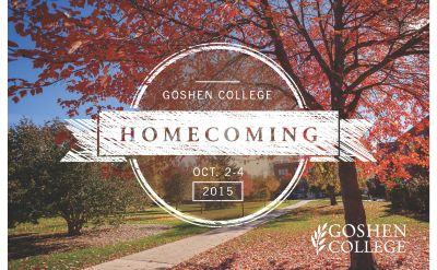 2015 Goshen College Homecoming Weekend, Oct. 2-4