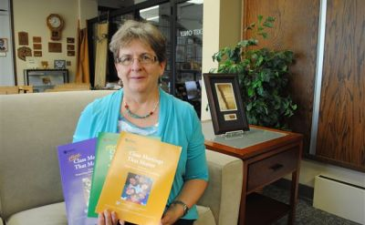 Mary Yoder Holsopple '76 co-authors books about respecting people with disabilities