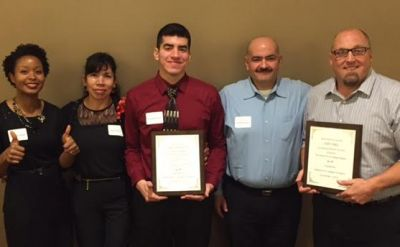 First-generation student earns 'Realizing the Dream' award