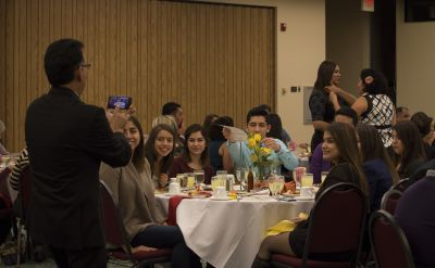 Latino Scholarship Dinner inspires next generation to change the world