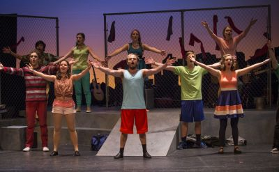 GC students tell the story of Jesus in updated version of classic 'Godspell'