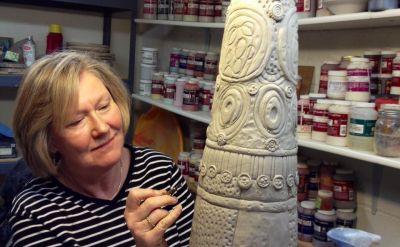 Mother-daughter duo to display artworks in Hershberger Gallery