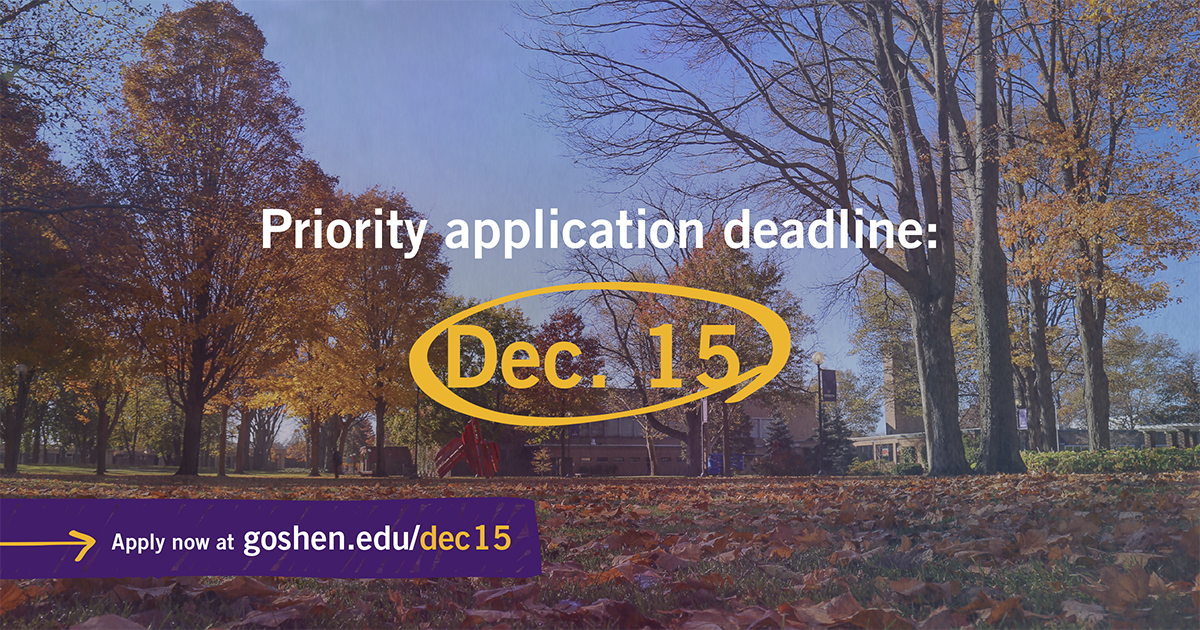 What is a priority application for college?