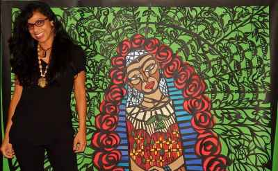 Artist Beatriz Vasquez on the cutting edge of papel picado