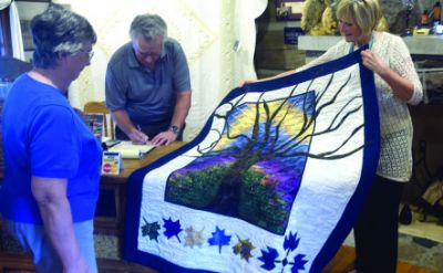 Shirley Albrecht Shenk '71 and Dave Shenk '71: The art of quilting – The Mennonite