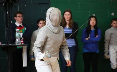 Junior Olympic fencer Anja Kenagy finds footing at Goshen College