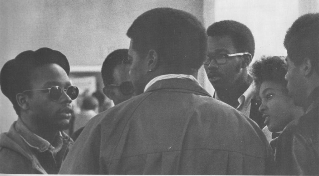 1970 - Black Students - Maple Leaf