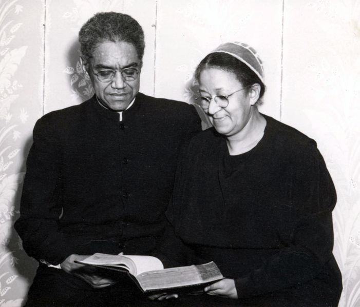 James and Rowena Lark, 1951, Mennonite Church USA Archives