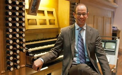 David Jonies to give organ recital in Rieth Recital Hall