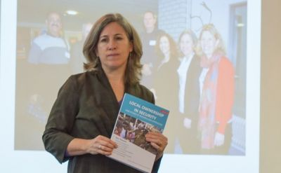 Lisa Schirch '90 finishes first-of-a-kind curriculum to improve civilian-security sector relations – EMU News