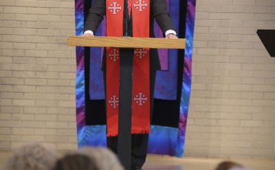 "President's baccalaureate sermon: ""Cultured for Loving Service"""