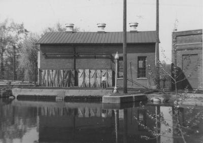 Goshen millrace powerhouse